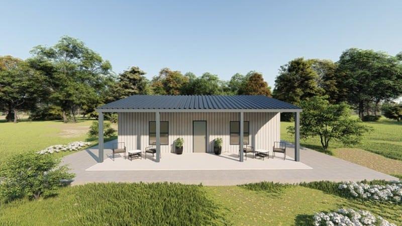 30x30 metal house design