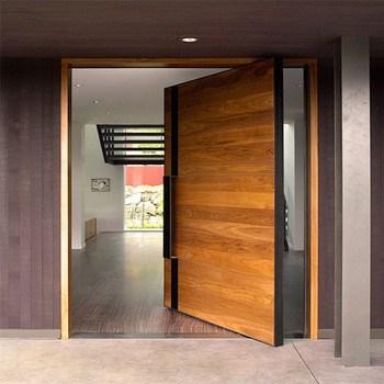 center swing door