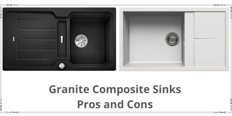 two granite composite sinks picture