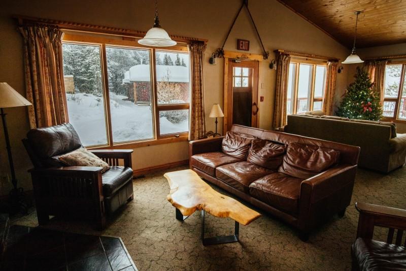 internal room of cabin