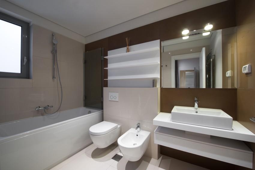 modern bathroom with bided etc