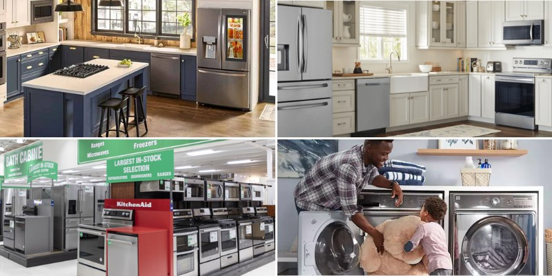 best online appliances stores and sites