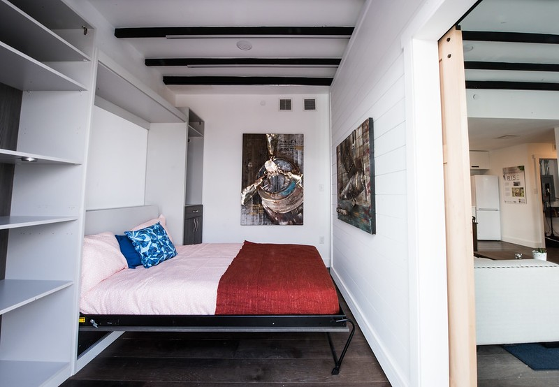 murphy bed on wall