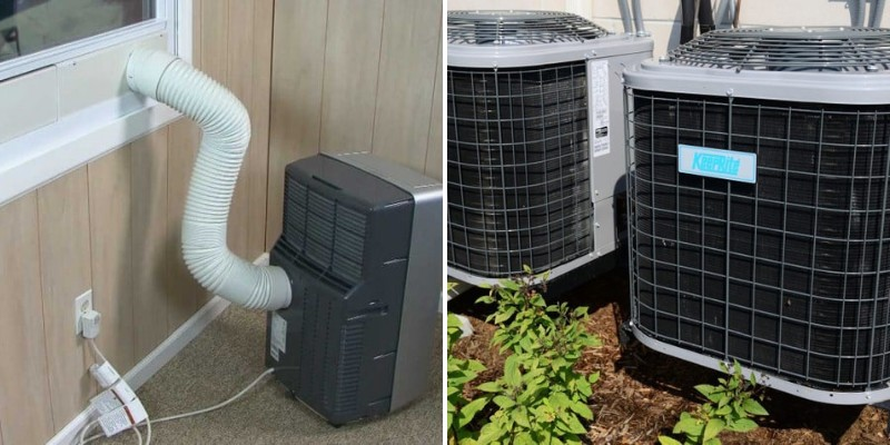 different popular air conditioning types