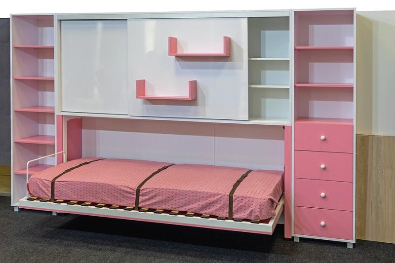 murphy bed in kids bedroom