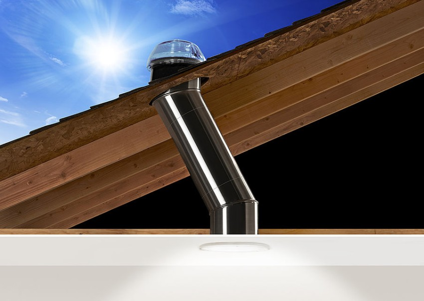 dome tube on roof