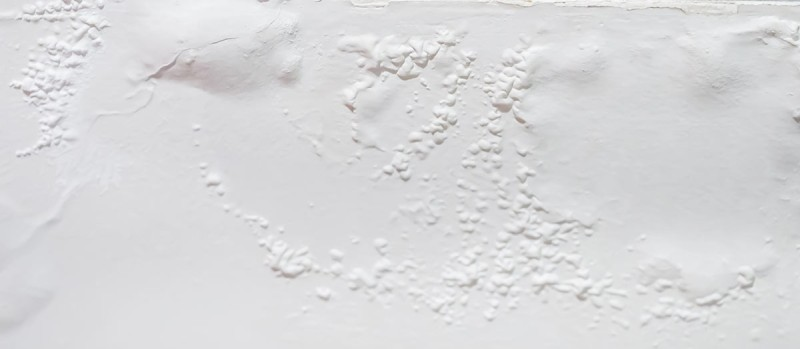 blistering paint on wall