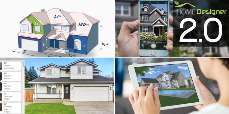 software apps for home exterior design