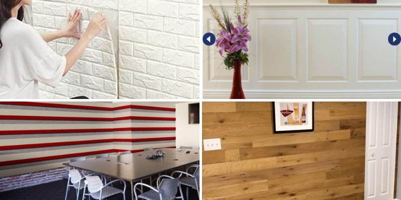 wall paneling types