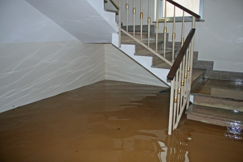 water flooding in house