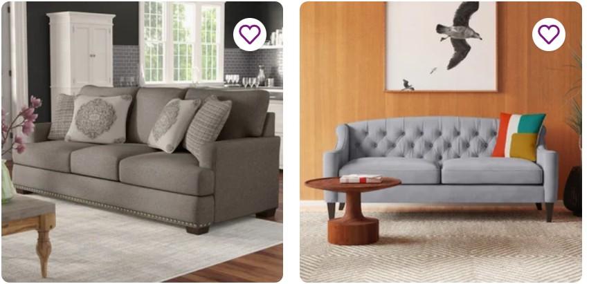 wayfair sofas