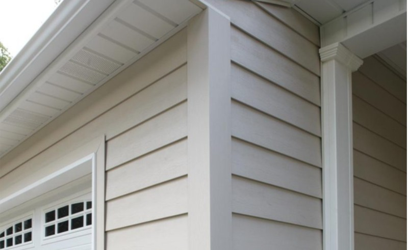 traditional clapboard siding