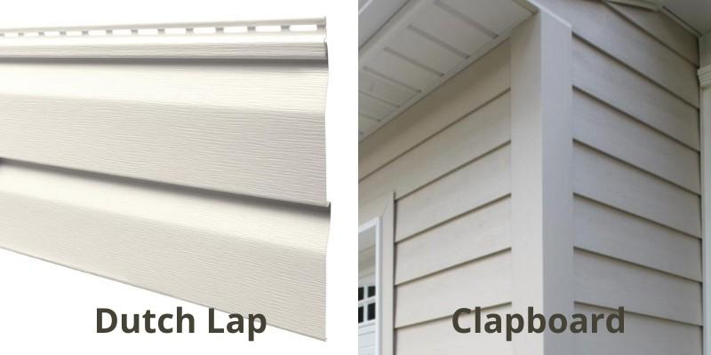 comparison of dutch lap and clapboard