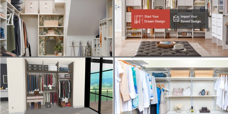 closet and wardrobe design software